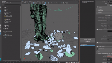Fracture FX  Demolition tools for Maya | Destruction | Shatter Plugin