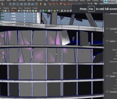 Interior Face Displacement: new in Fracture FX 1.8!